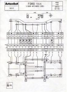 схема FORD диагностика автомобиля