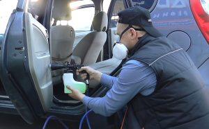 WDK-65133 чистка обивки салона автомобиля пистолетом