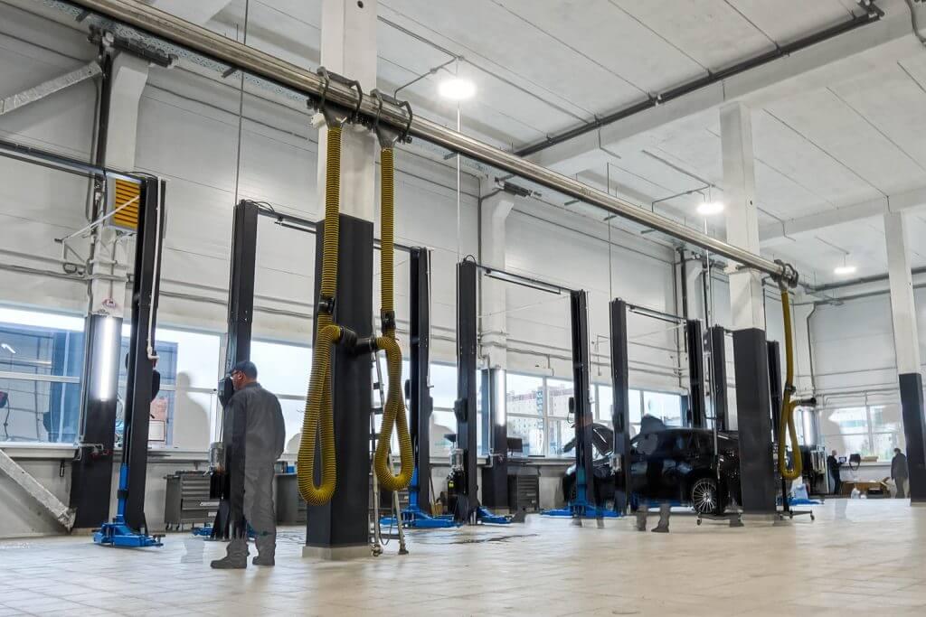 Комплектация оборудованием WiederKraft сети «ЕвроАвто»