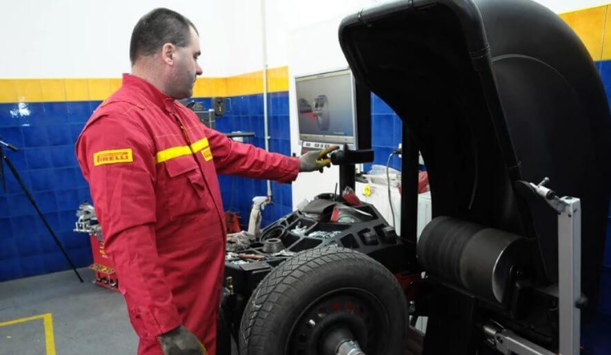 Балансировка колес в автосервисе